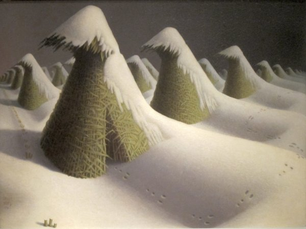 Midtown Manhattan Valley Follies Born Today Grant Wood- Wikipedia