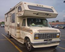 Ford Econoline Camper Van