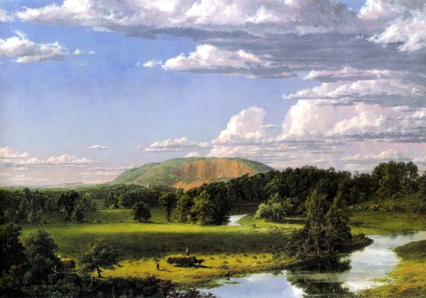 Frederic Edwin Church New Haven West Rock
