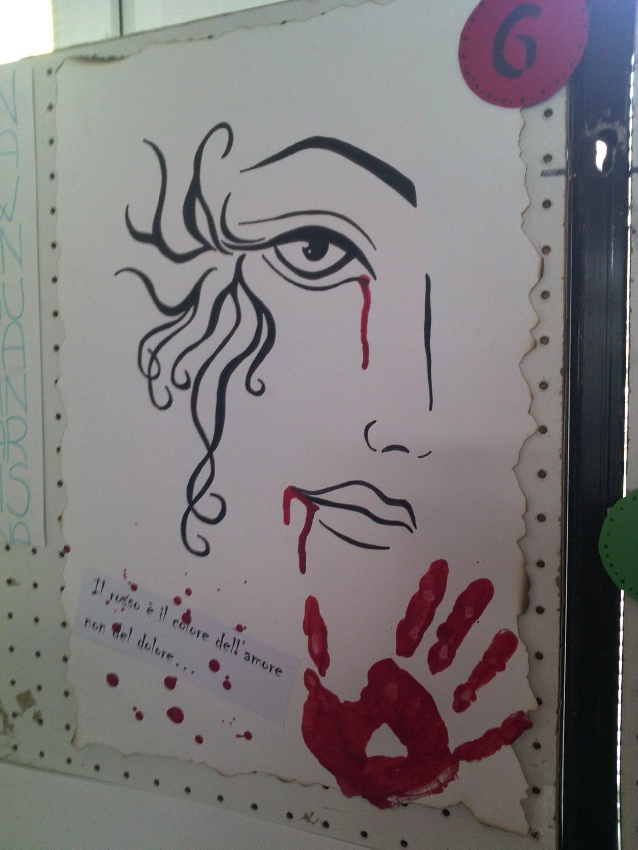 concorso di pittura manifesto contro la violenza sulle donne notiziario violenza sulle donne