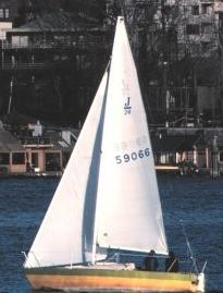Picture of a sloop, from wikipedia