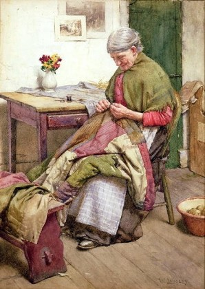 File:Walter Langley - The Old Quilt.jpg