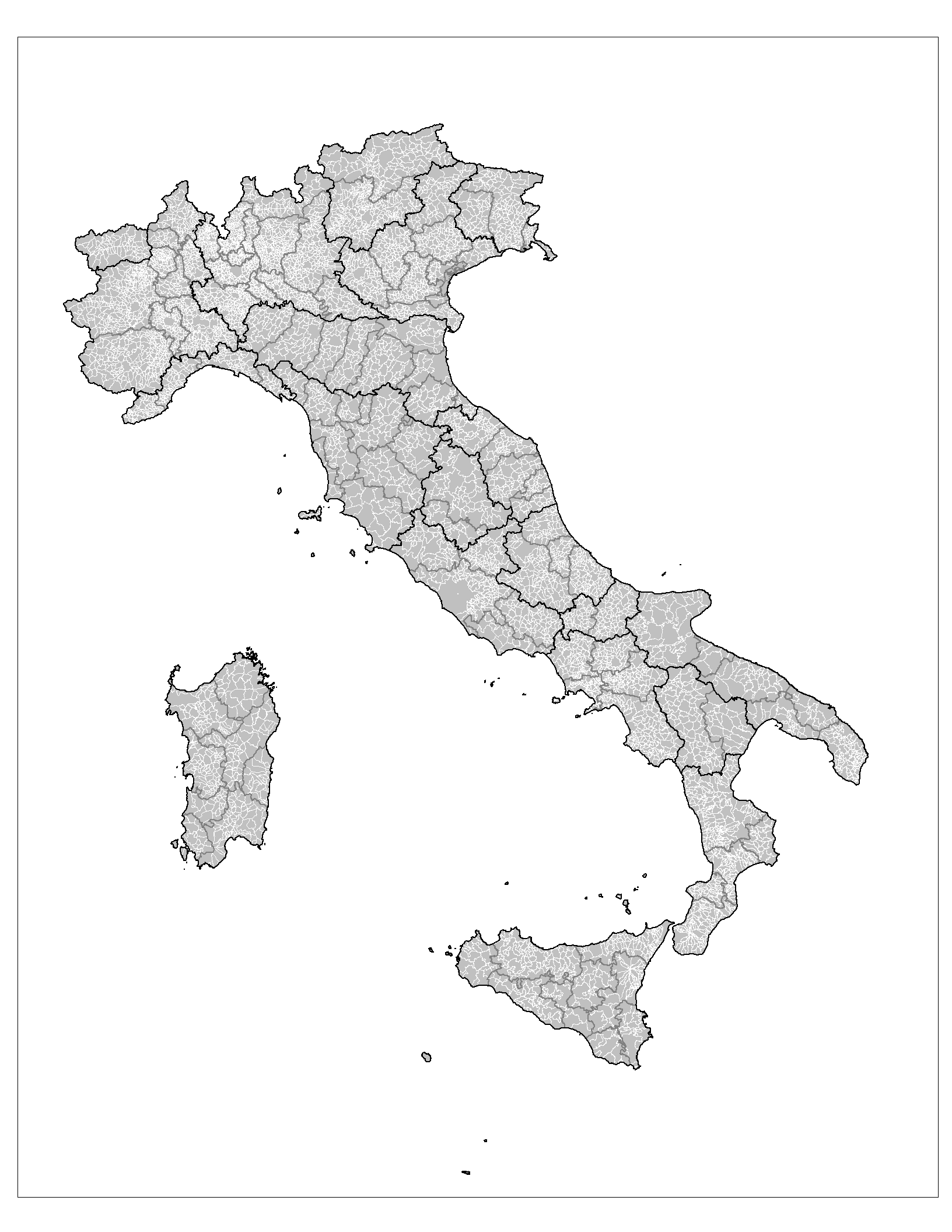 File Administrative Map Of Italy Showing Regions