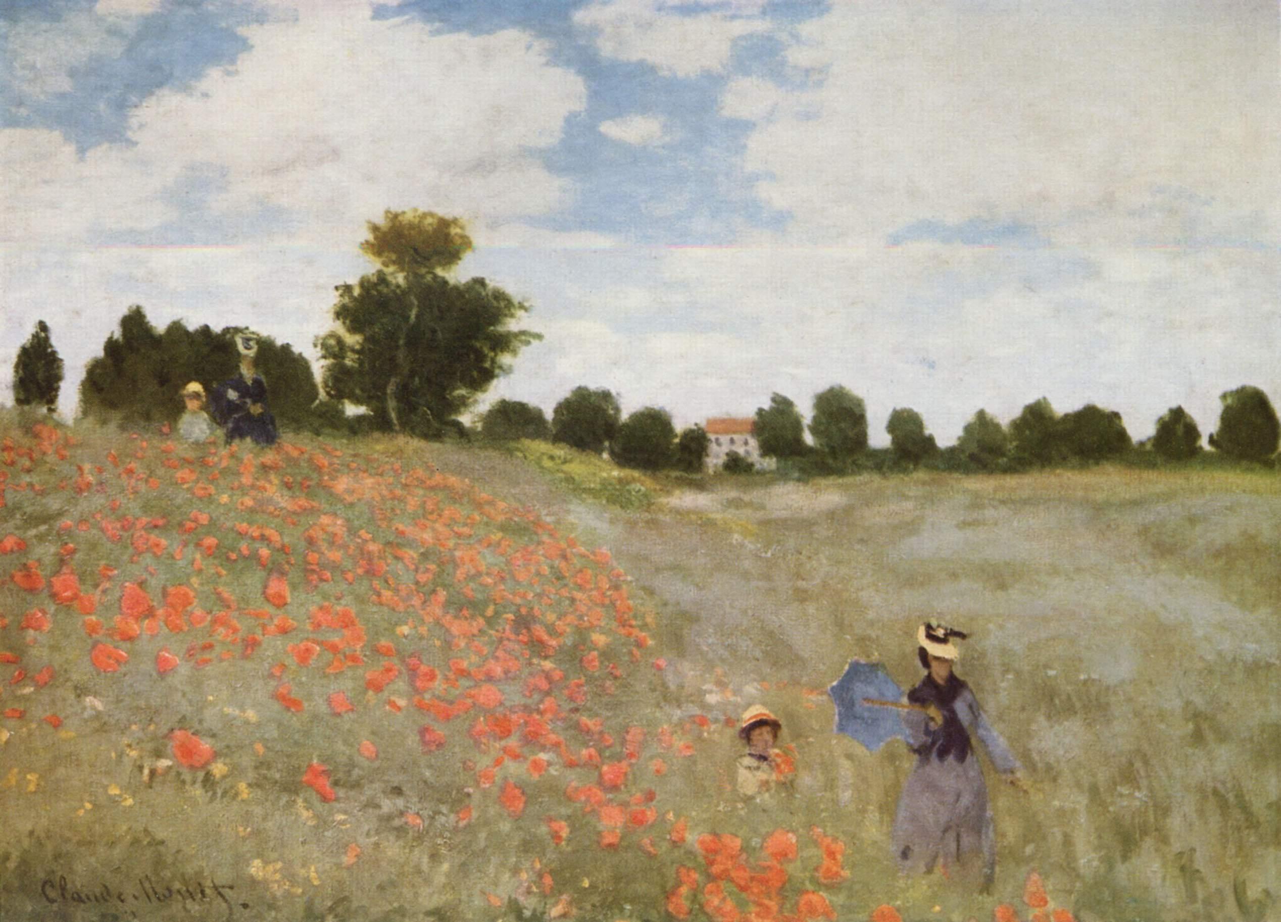 Claude Monet, I Papaveri, 1873 - wikipedia