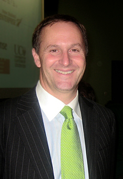John Key, leader of the New Zealand National Party