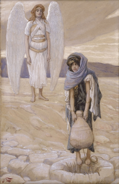 File:Tissot Hagar and the Angel in the Desert.jpg