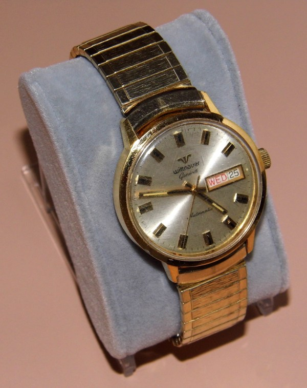 """File Vintage Wittnauer """"geneve"""" Automatic Wrist Watch"""