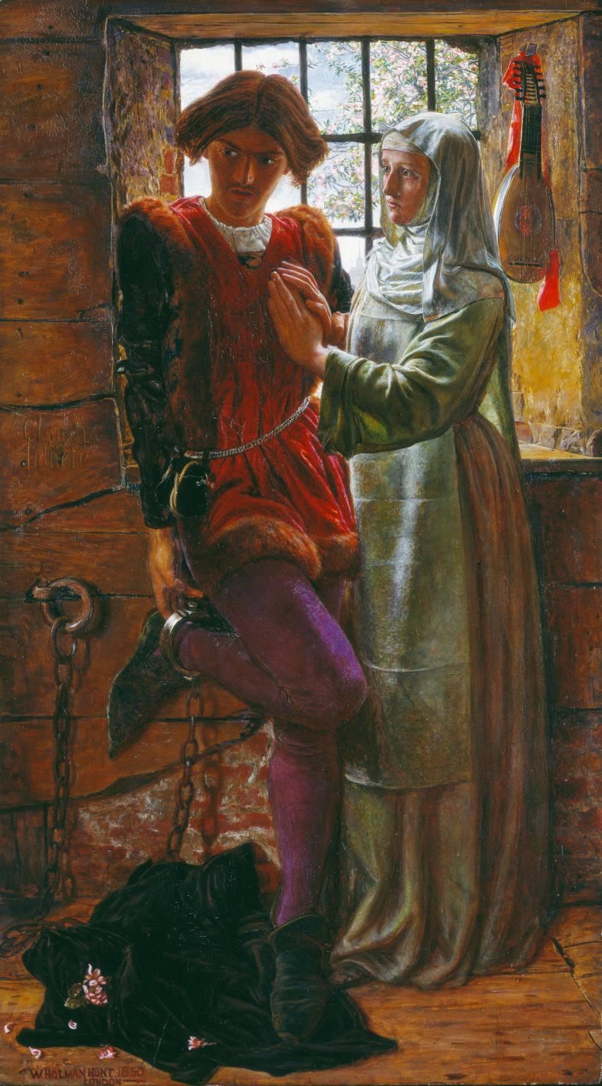 William Hunt - Claudio and Isabella