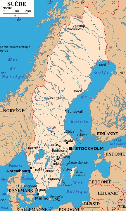 Quel Est Le Plus Long Fleuve Européen? : fleuve, européen?, Géographie, Suède, Wikipédia