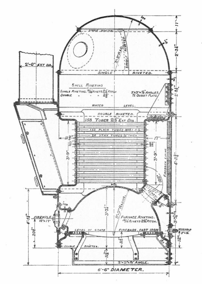 File:Cochran boiler, section (Bentley, Sketches of Engine