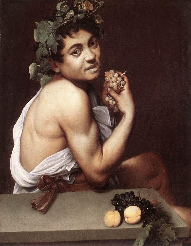 Michelangelo Merisi da Caravaggio - Sick Bacch...