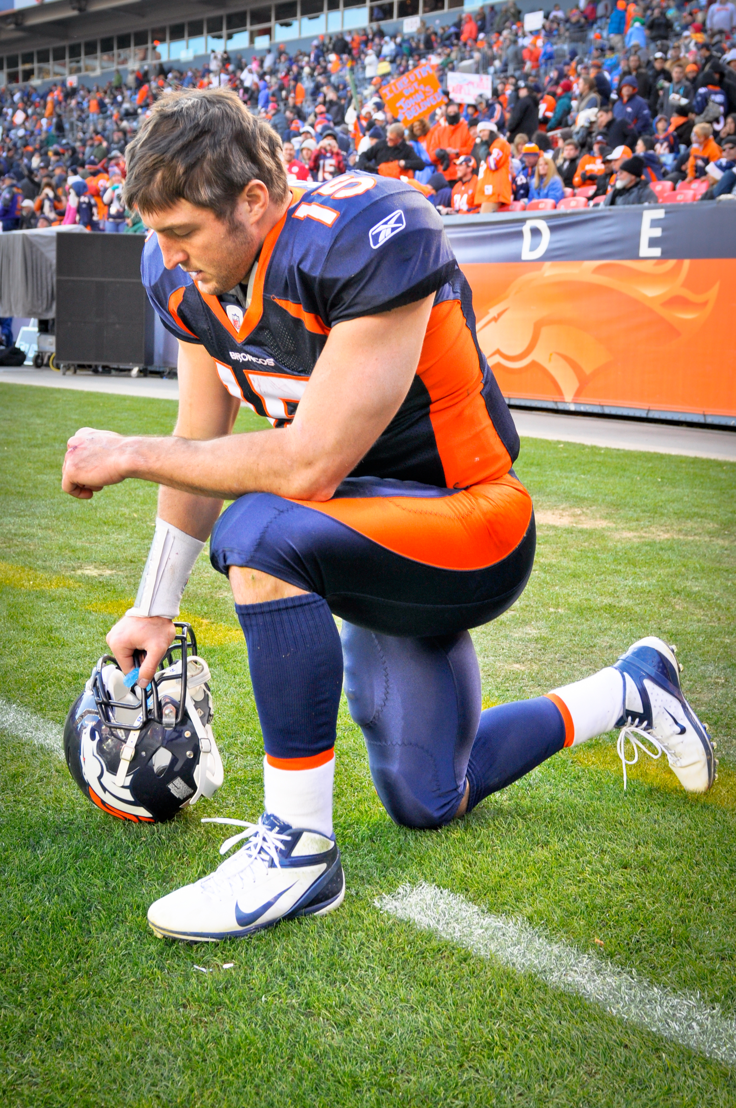 Image result for Tebow bows