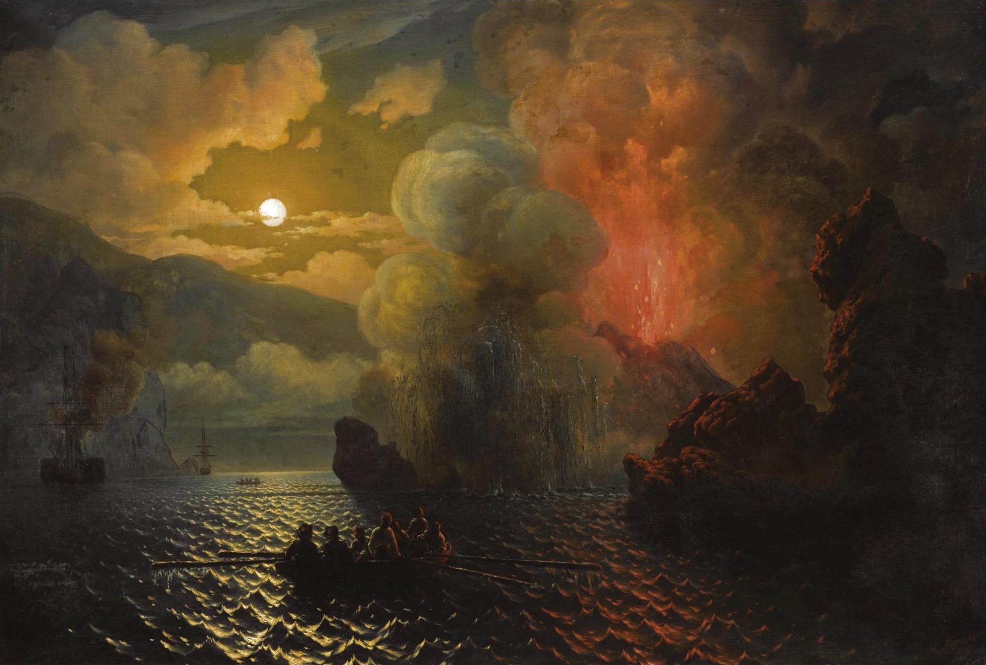 File:Николай Павлович Красовский - Побег из извержение вулкана.jpg