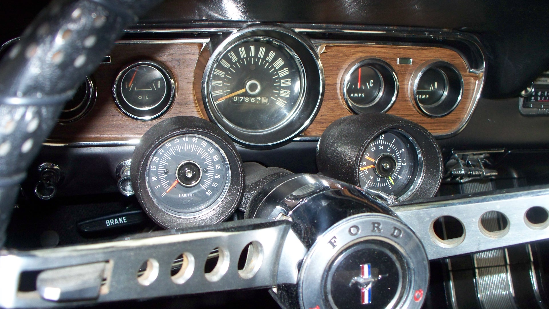 hight resolution of 1966 mustang rally pac wiring