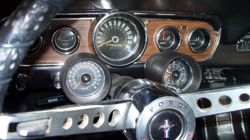small resolution of 1966 mustang rally pac wiring