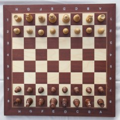Chess Board Setup Diagram Ez Go Golf Cart Wiring File With Set In Opening Position Img