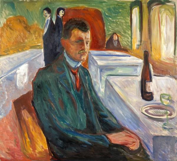 File Edvard Munch - -portrait With Bottle Of Wine Google Art Wikimedia Commons