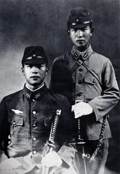 Hiroo and shigeo onoda 1944