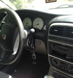 interior of a 2003 saturn l200 sedan [ 3264 x 2448 Pixel ]