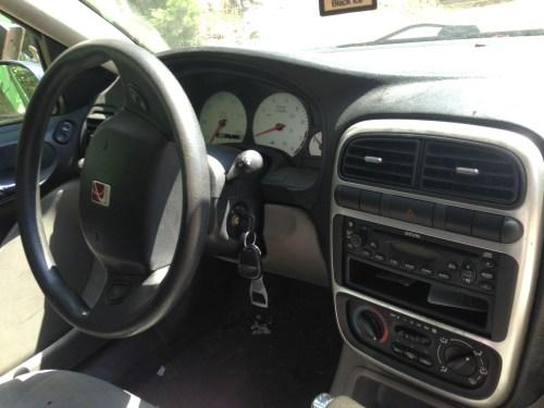 small resolution of interior of a 2003 saturn l200 sedan