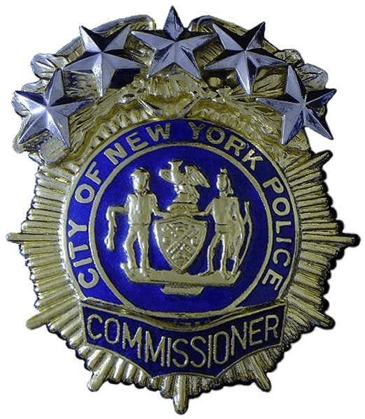 New York City Police Commissioner  Wikiwand