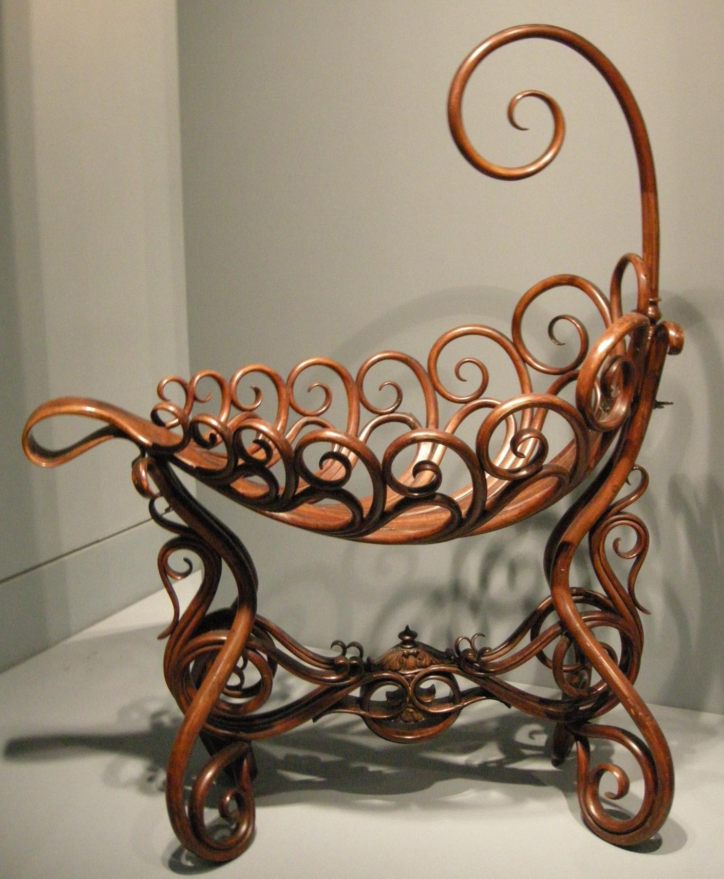 Bent Wood Rocking Chair
