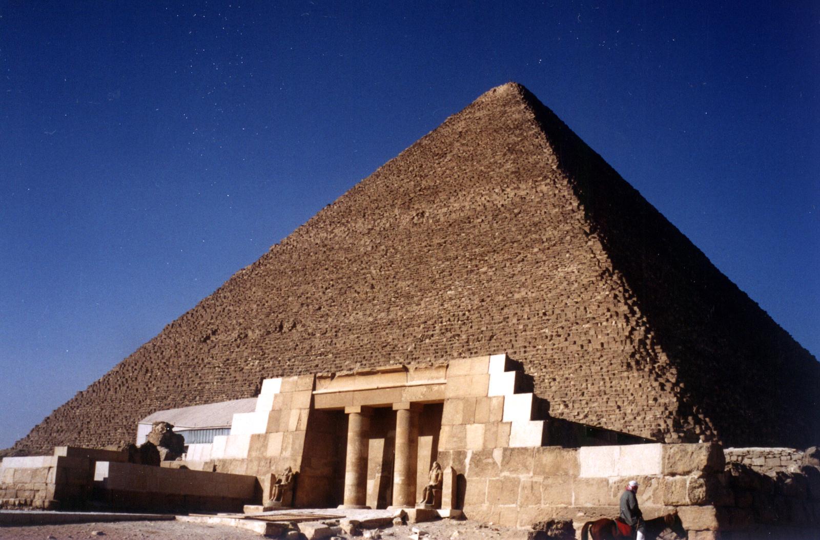Pyramid of Khufu.