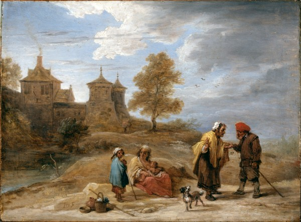 File Teniers David Younger - Gypsies In Landscape