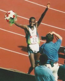Kenyan-born Wilson Kipketer dominated the 800 ...
