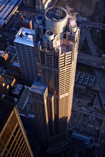 South Wacker Drive Sears Tower In Chicago