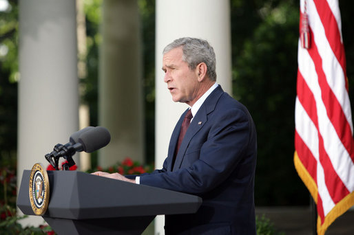How George W. Bush saved Georgia from Russia