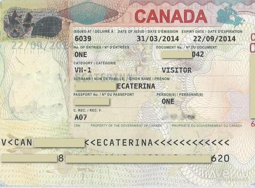 Visa_to_Canada Online Application Form For Canadian Visit Visa on