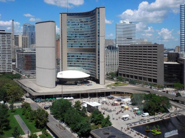 Ontario Toronto City Hall