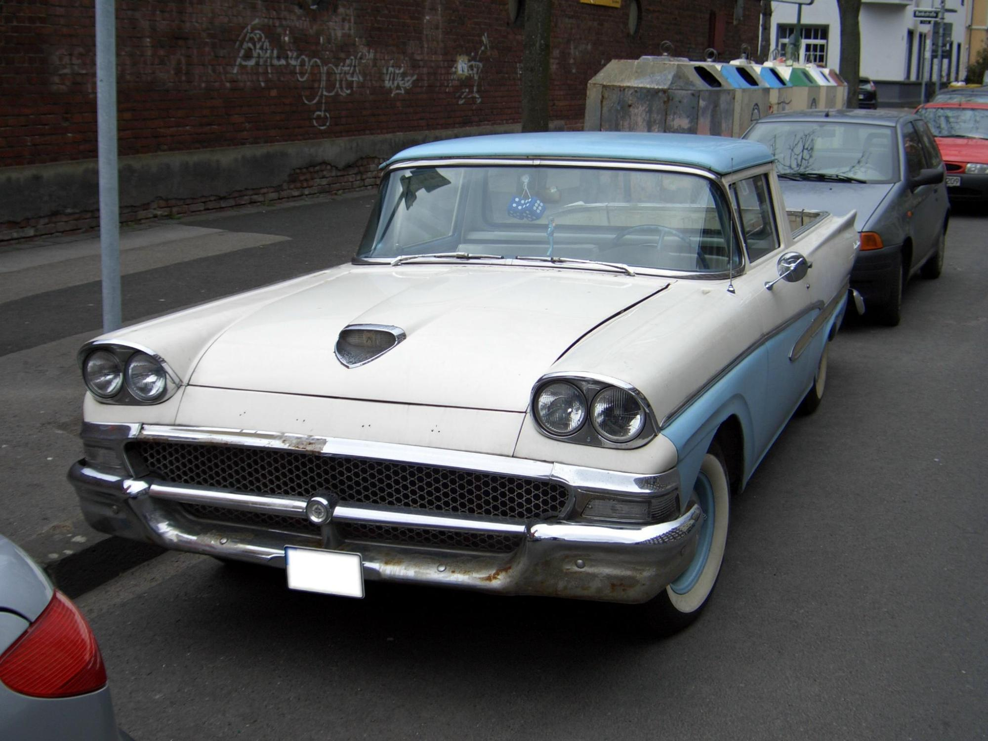 hight resolution of 1958 ford ranchero classic cars
