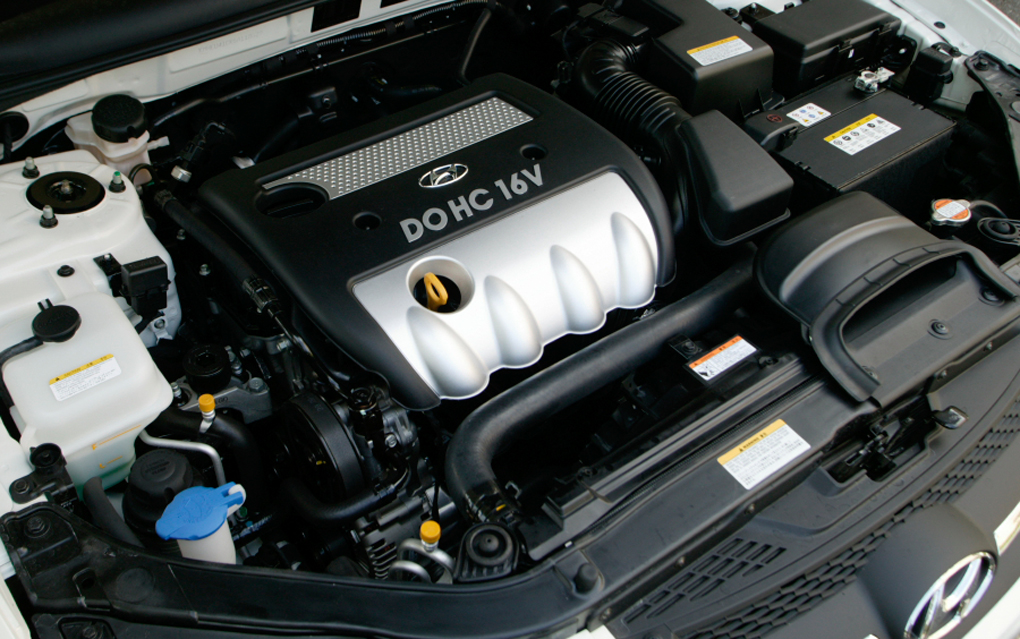 2010 Hyundai Tucson Engine Diagram