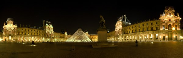 File Louvre Museum Night - Wikimedia Commons