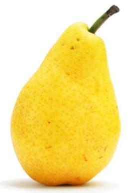 A pear