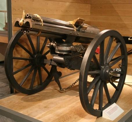 Bildresultat för gatling gun 1865