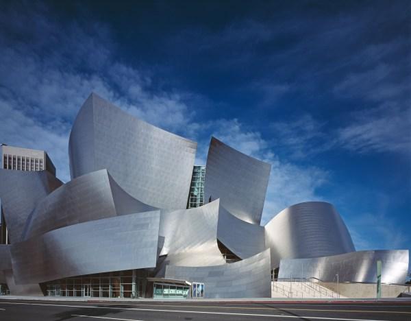 Walt Disney Concert Hall Architecture