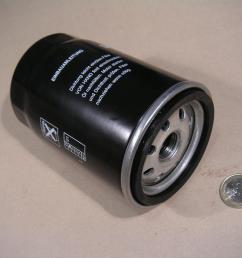 small diesel engine fuel filter [ 1600 x 1200 Pixel ]