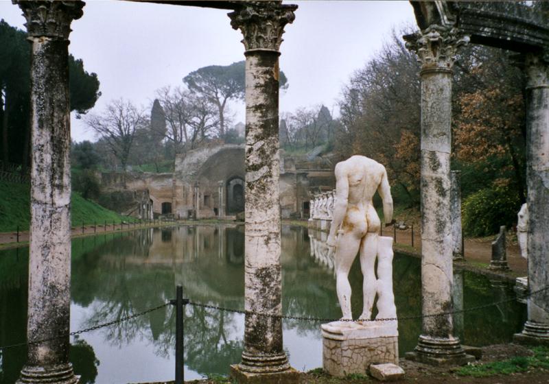 La villa Adriana