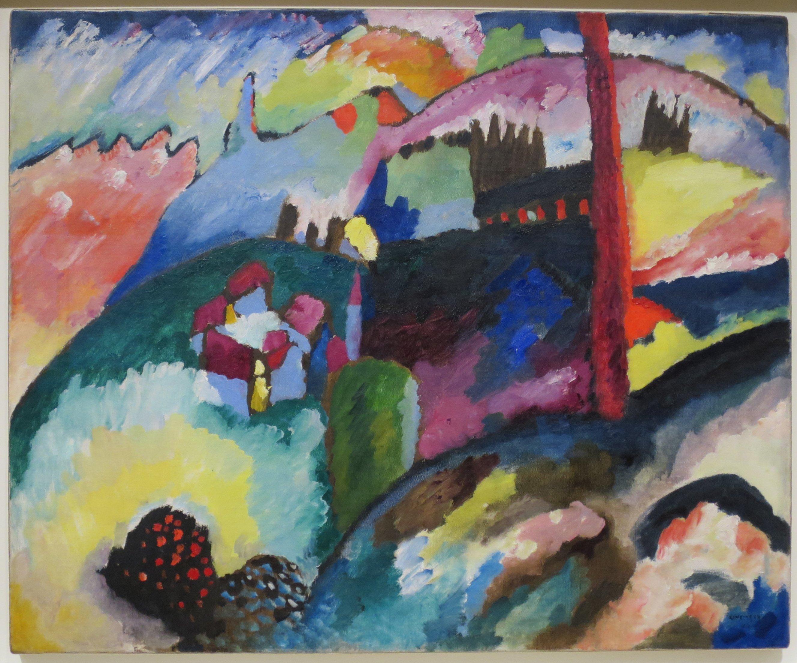 FileLandscape with Factory Chimney by Vasily Kandinsky