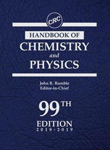 CRC Handbook of Chemistry and Physics  Wikipedia