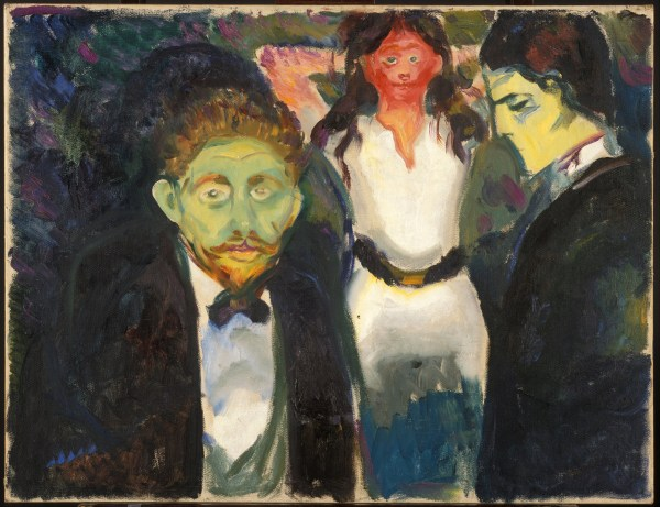Edvard Munch Jealousy