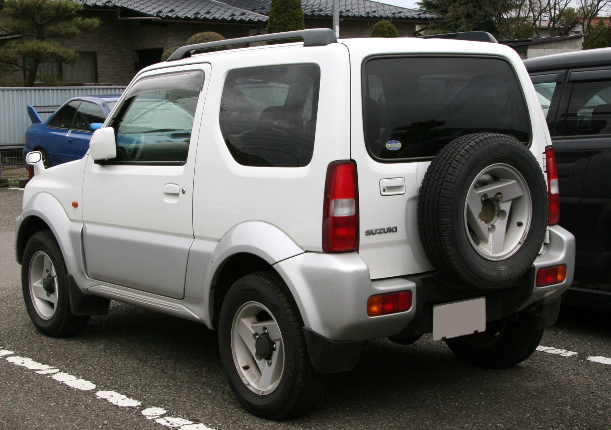 hight resolution of suzuki jimny sierra