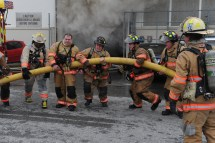 Firefighter Extinguish Fire