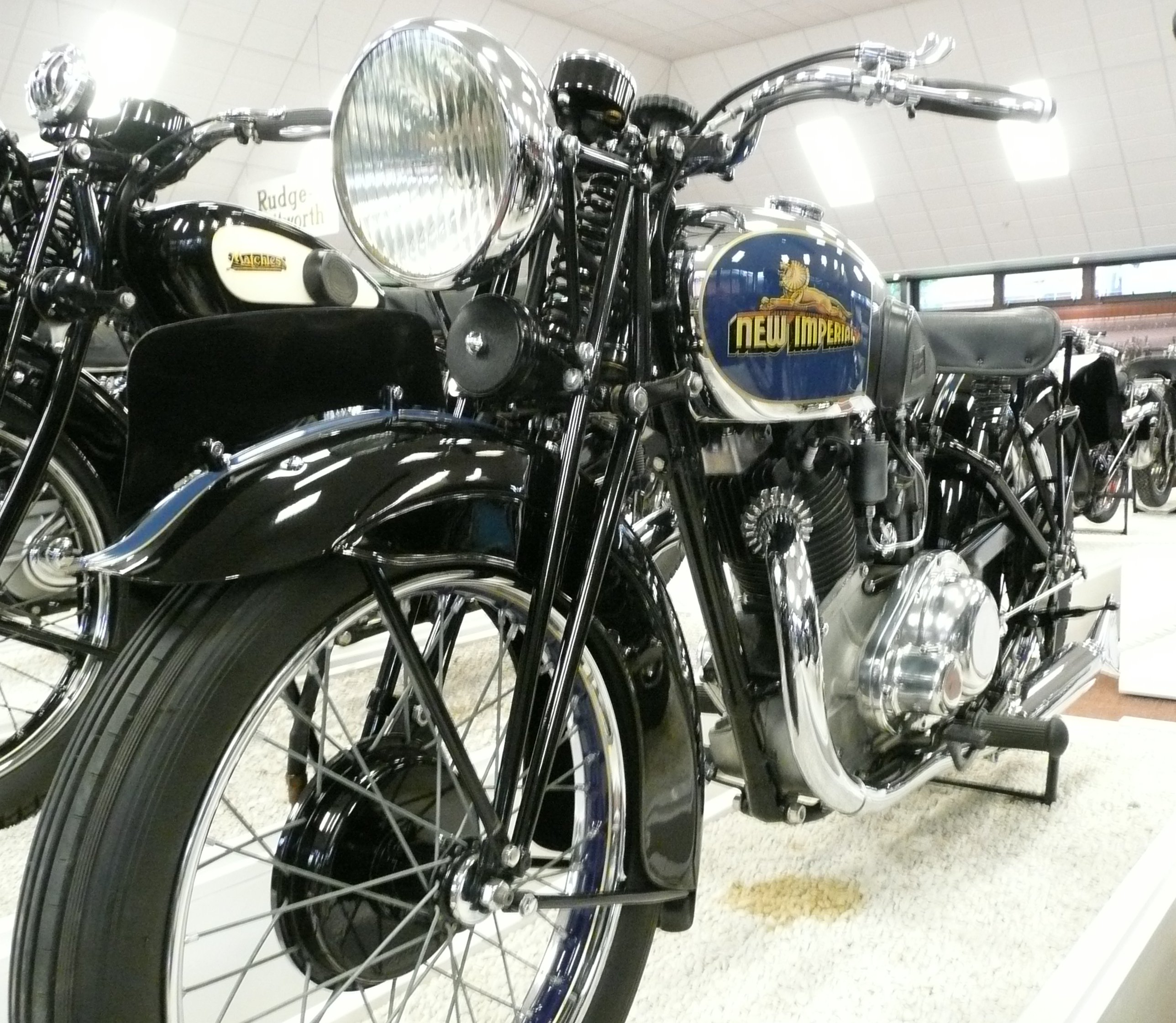 1937 New Imperial 500cc (at the National Motor...