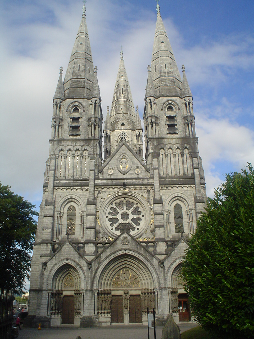 Gothic Cathedrals Included Flying Buttresses To