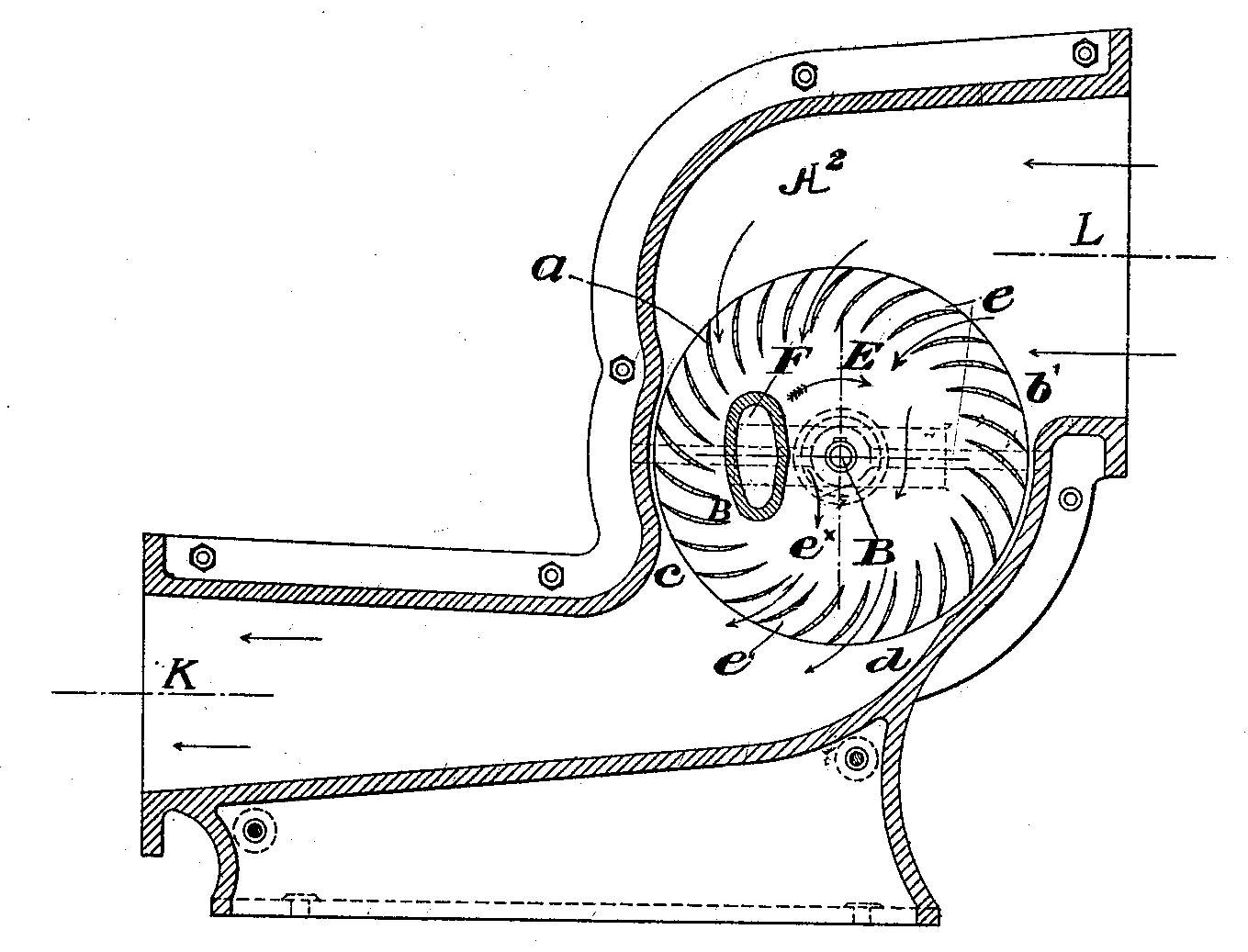 hight resolution of file cross flow fan schematic patent png wikimedia commonsfile cross flow fan schematic patent png