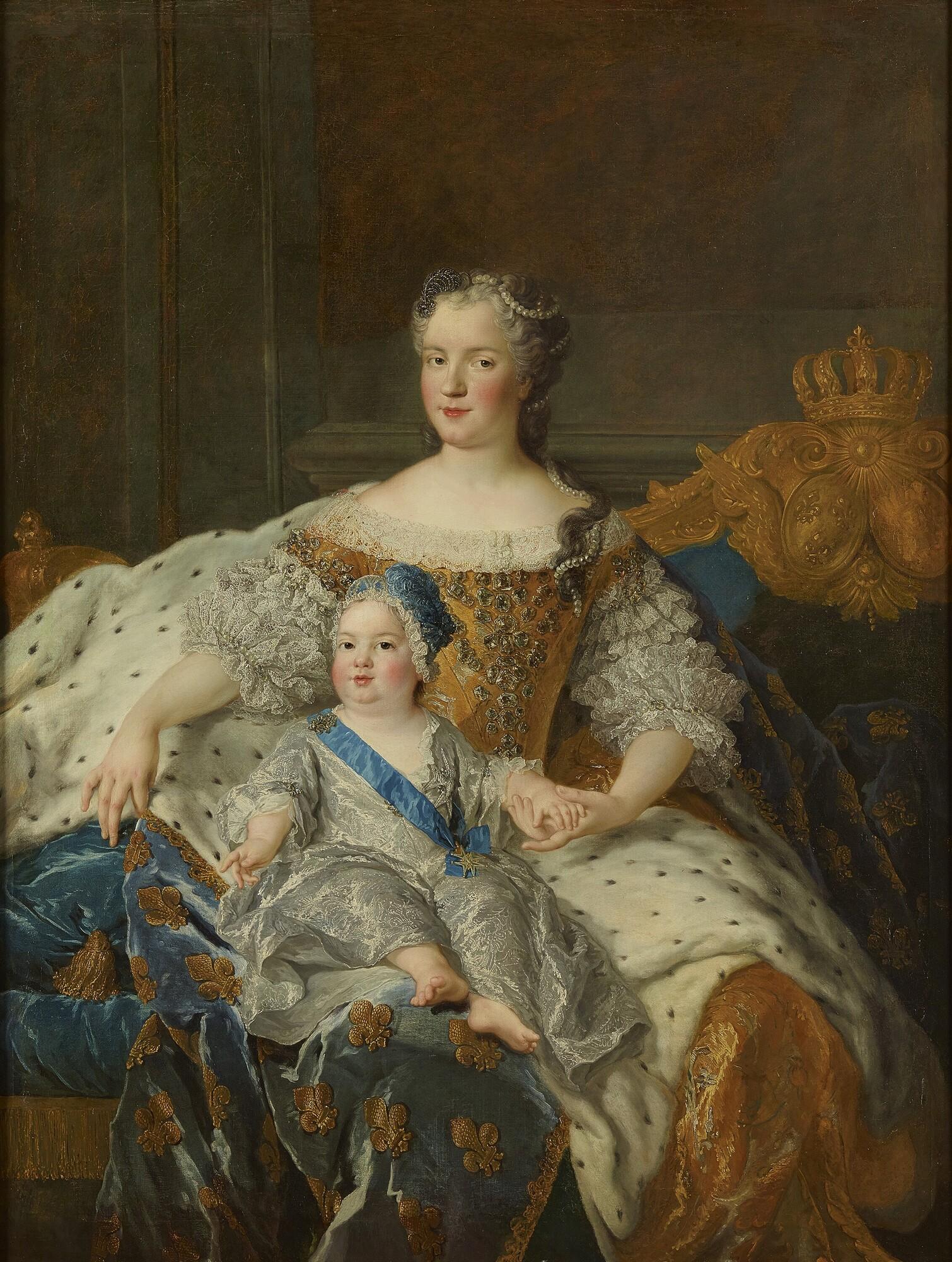 王妃レスザンスカと王太子